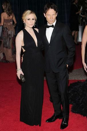 Stephen Moyer and Anna Paquin at White House 2012 (credit: GQ )
