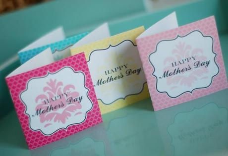 Free Printable Friday:  Happy Mother's Day
