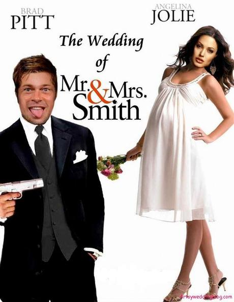 Brad Pitt And Angelina Jolie Movie Themed Wedding Paperblog