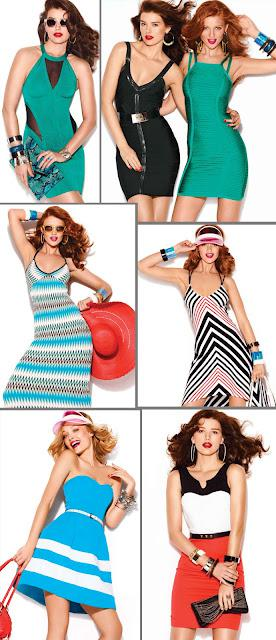 Bebe's Summer Lookbook