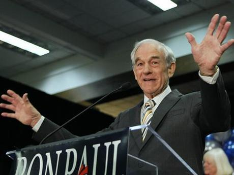 Ron Paul announced on Monday that he would stop campaigning in the remaining Republican primaries. Photo: Robert F. Bukaty / AP.