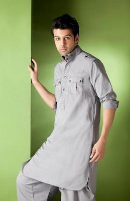 Akbar & Babar Summer Kurta Collection 2012 For Men