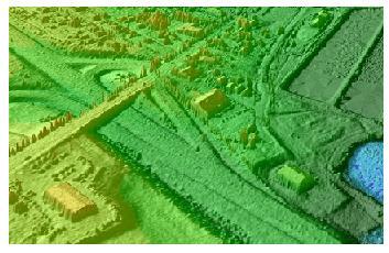 CSR LIDAR overpass Digital Terrain Modeling