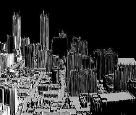 Toronto gray 3D Digital Terrain Modeling