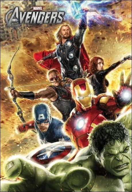 Limited Edition Avengers Movie Poster