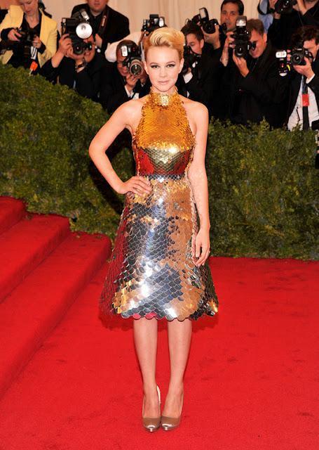 Carey Mulligan lists her Met Gala Prada Dress on eBay