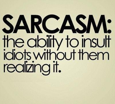 Sarcastic essays