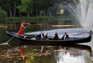 Amsterdam canals by gondola