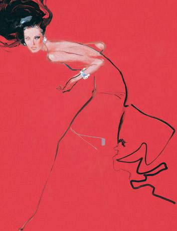 david-downton-fashion-illustration-gown-red
