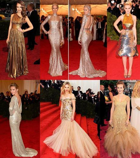 GLAMOROUS GOLDSMeet the Met Galas Biggest Trends: Must See Fashion Moments