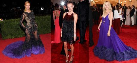 PURPLE PLUMESMeet the Met Galas Biggest Trends: Must See Fashion Moments