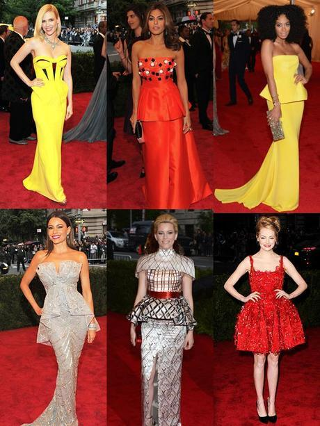 POPPING PEPLUMSMeet the Met Galas Biggest Trends: Must See Fashion Moments