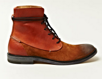 Broken Traditions:  Martin Margiela Leather Lace-up Trunk Boot