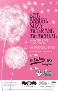 8th Annual Suzy McGrane Memorial Party in Charleston, SC