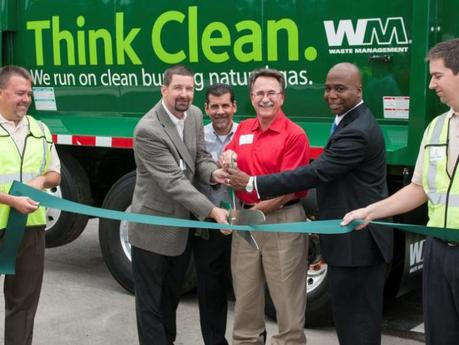 Waste Management expands use of natural gas in Houston area