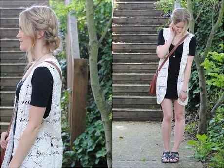 vintage lace & lazy braids