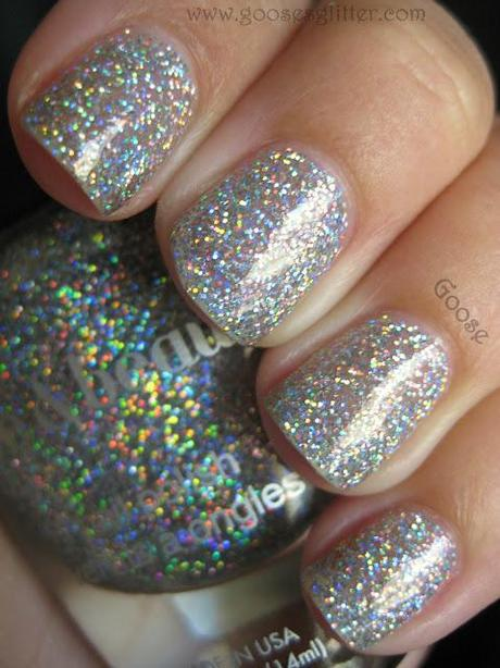 Love & Beauty - Silver:  The Blingy-est Polish I Own