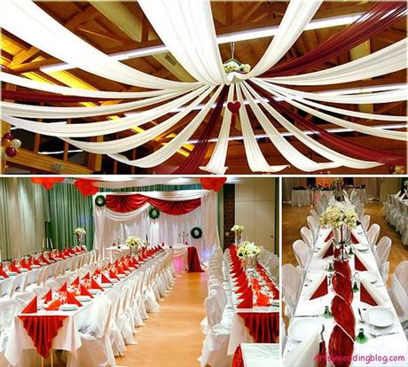 Eye catching decorations for the ceiling of asian weddings for Asian wedding house decoration ideas