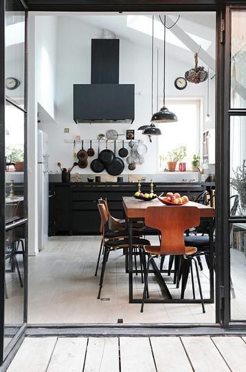 Modern Industrial Kitchen Design Idea