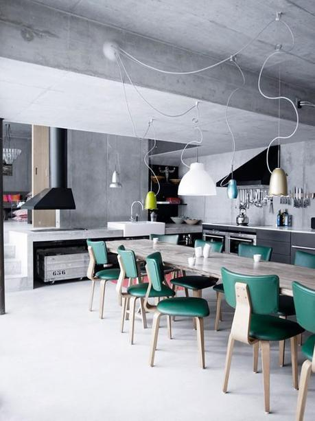 Contemporary Industrial Kitchen