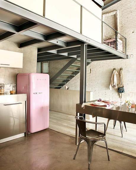 Bold Industrial Kitchen Design