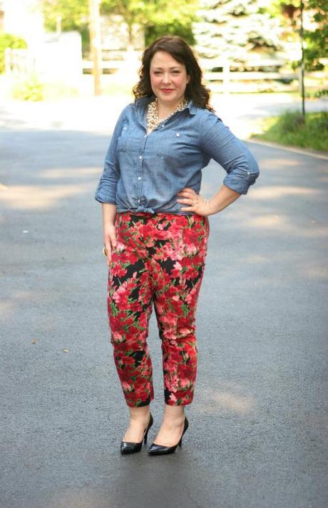 Thursday - Chambray with Floral