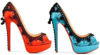 Shoe of the Day | Christian Louboutin Torero 150mm Peep Toe Studded Pumps