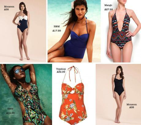 Honeymoon swimsuits from the High Street
