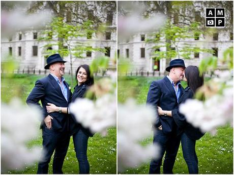 London in love – a romantic Engagement Shoot.