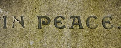 Lead lettering