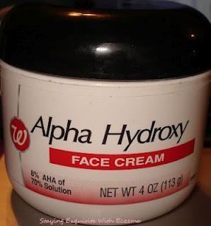walgreens alpha hydroxy face cream