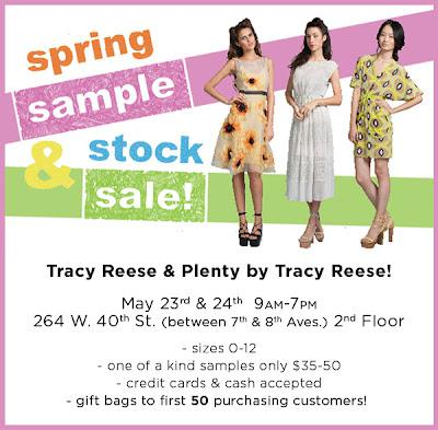 Shopping NYC - Tracy Reese Sample Sale