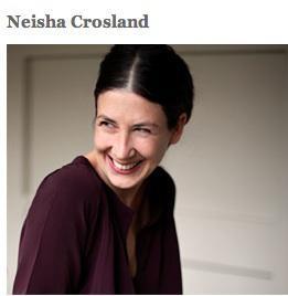 The Gold Medal for British design goes to Neisha Crosland!
