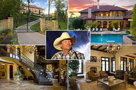 Homes of Country's Rich and Famous