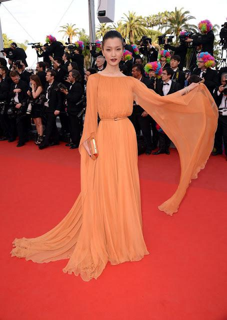 A Model Moment: Du Juan at Cannes