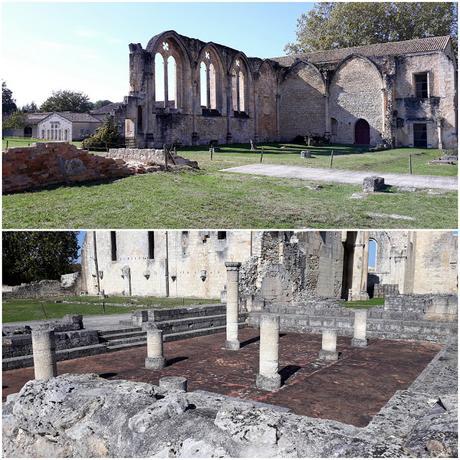 Exploring the ruins of Abbaye de la Sauve-Majeure