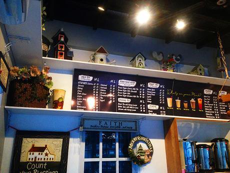 Inside StopOver cafe