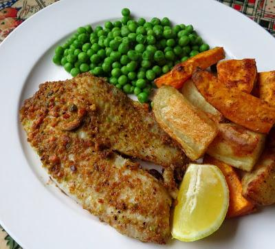 Pistachio & Lemon Dusted Tilapia