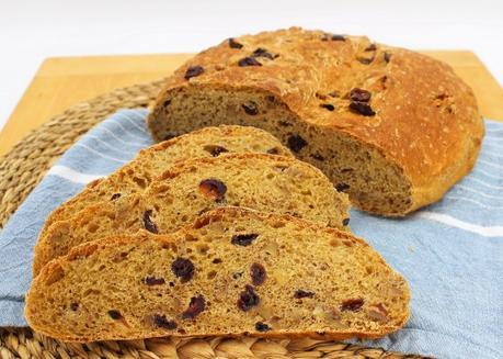 Cranberry Walnut Bread #CranberryWeek