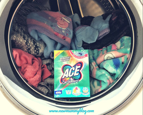 Winter clothes organisation – ACE for Colours Powder | @britmums #ACEWinterRefresh Challenge