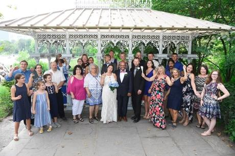 Christine and Alwyn's August Wedding in the Ladies' Pavilion