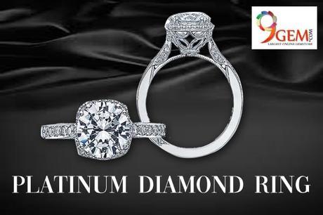 Platinum diamond jewellery