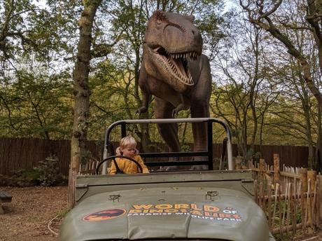 3. Take your child to World of Dinosaurs, Paradise Park, Broxbourne