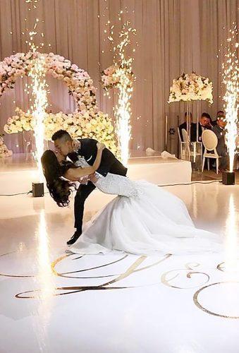 first dance wedding shots dance in fireworks royalorchidflorist