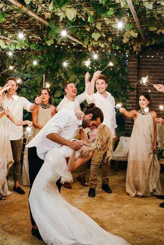 first dance wedding shots dip pose larahotzphotography