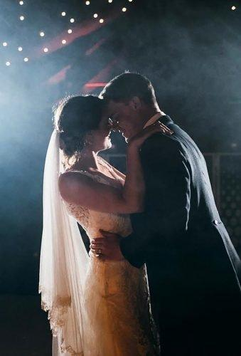 first dance wedding shots couple in smoke simonbiffenphoto