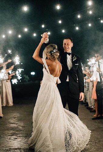 first dance wedding shots dance ander lamps and sparklers bethanysmallphoto