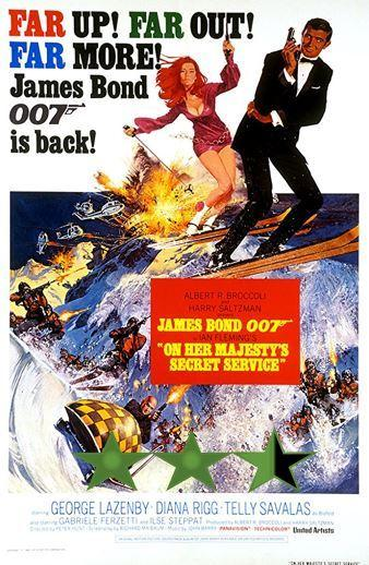 James Bond Month – On Her Majesty's Secret Service (1969)