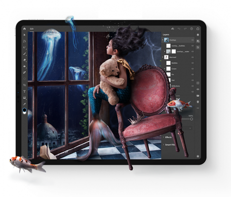 Adobe Photoshop now available for Apple iPad
