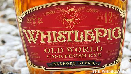 WhistlePig Chef's Blend 2019 Label